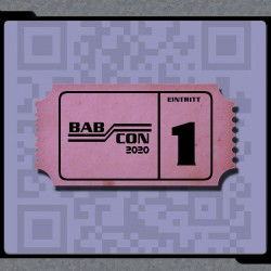 Ticket für die Babcon 2020